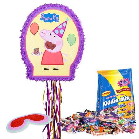 Peppa Pig Pinata Kit - Party Supplies