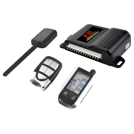 Telephone Entry System Lcd - CSPI SP-302 2-Way LCD Paging Alarm and Keyless Entry System with Rechargeable Remote
