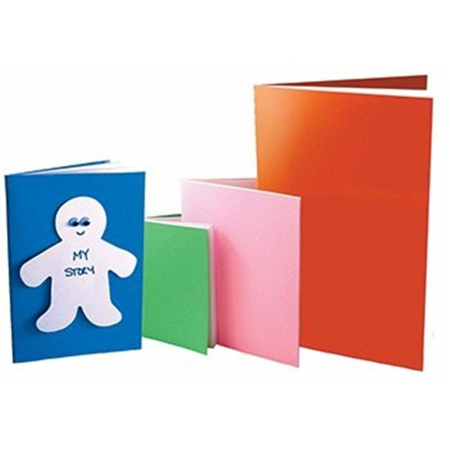 Hygloss Products HYG77721 Rainbow Brights Books 5 0.5 X 8.5- 32 Pages 20 Books White