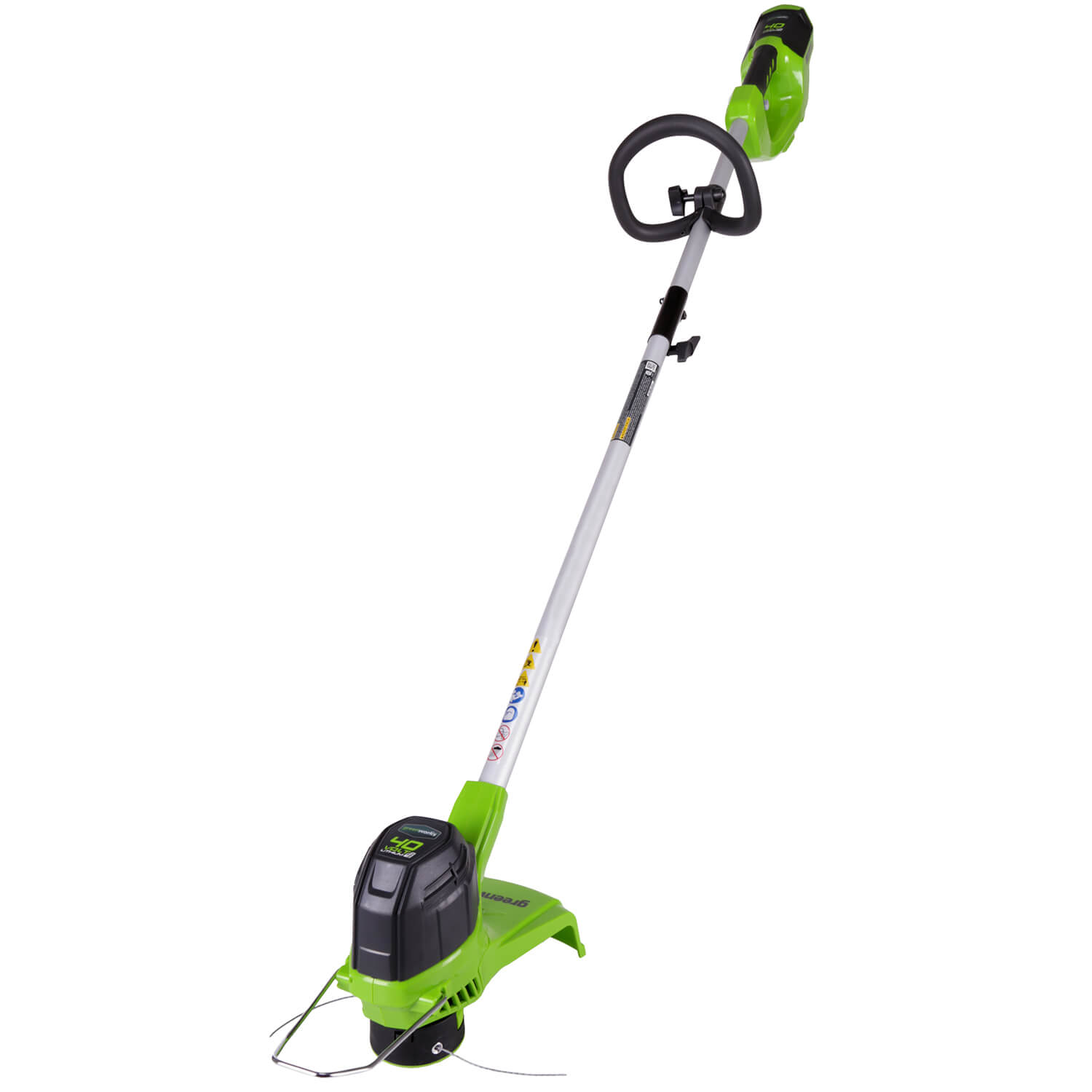 Greenworks 12-Inch 40V Cordless String Trimmer, 2.0 AH Battery Included 2101602 by Sunrise Global Marketing, LLC