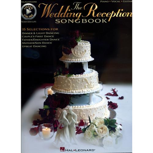 Hal Leonard The Wedding Reception Songbook (P/V/G)-Audio Online