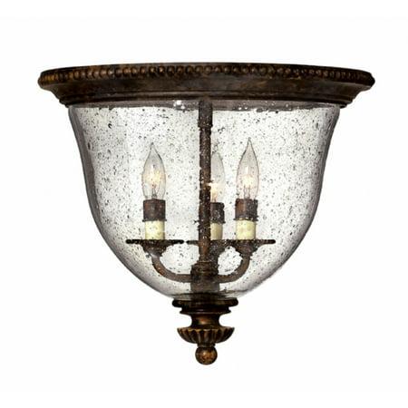 Hinkley Lighting 3712FB Rockford Foyer Light, Forum Bronze