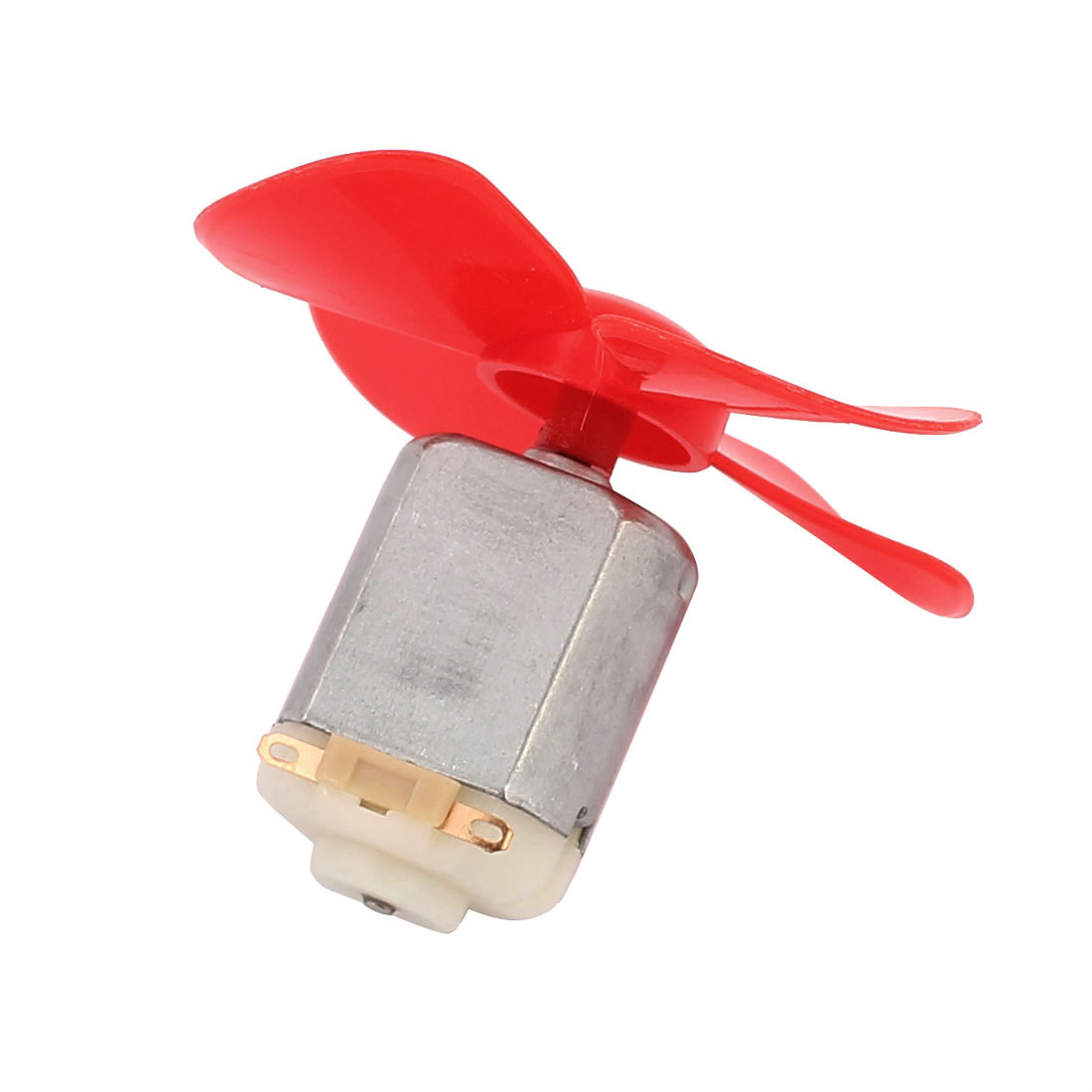 2Pcs DC12V 0.04A 14000RPM Aircraft Model Motor 4-vane Propeller 56mmx2mm - image 2 of 5