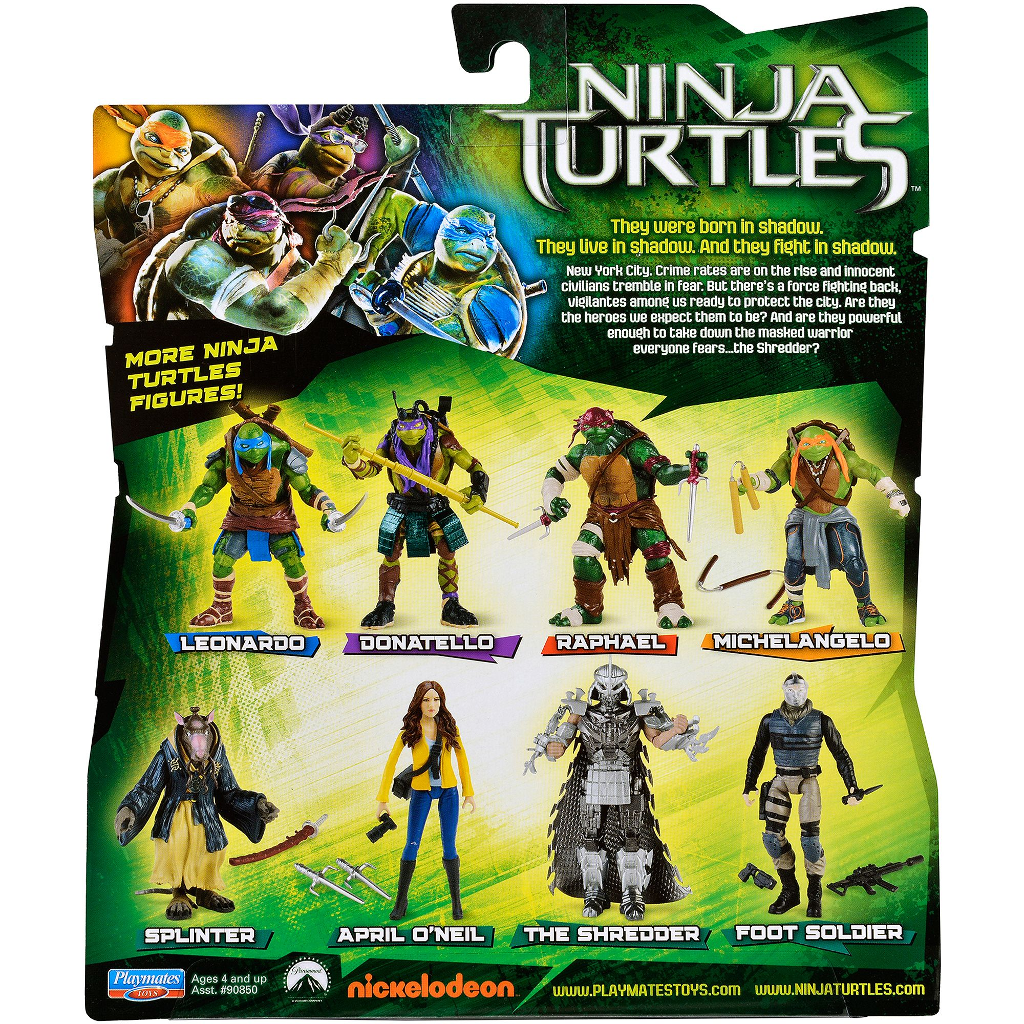 Teenage Mutant Ninja Turtles Movie Shredder Action Figure