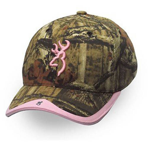 Browning Gunner Camo Cap, MOINF/Pink