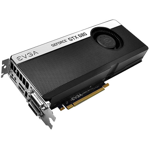 EVGA GeForce GTX 680 2GB GDDR5 PCI Express 3.0 Graphics Card