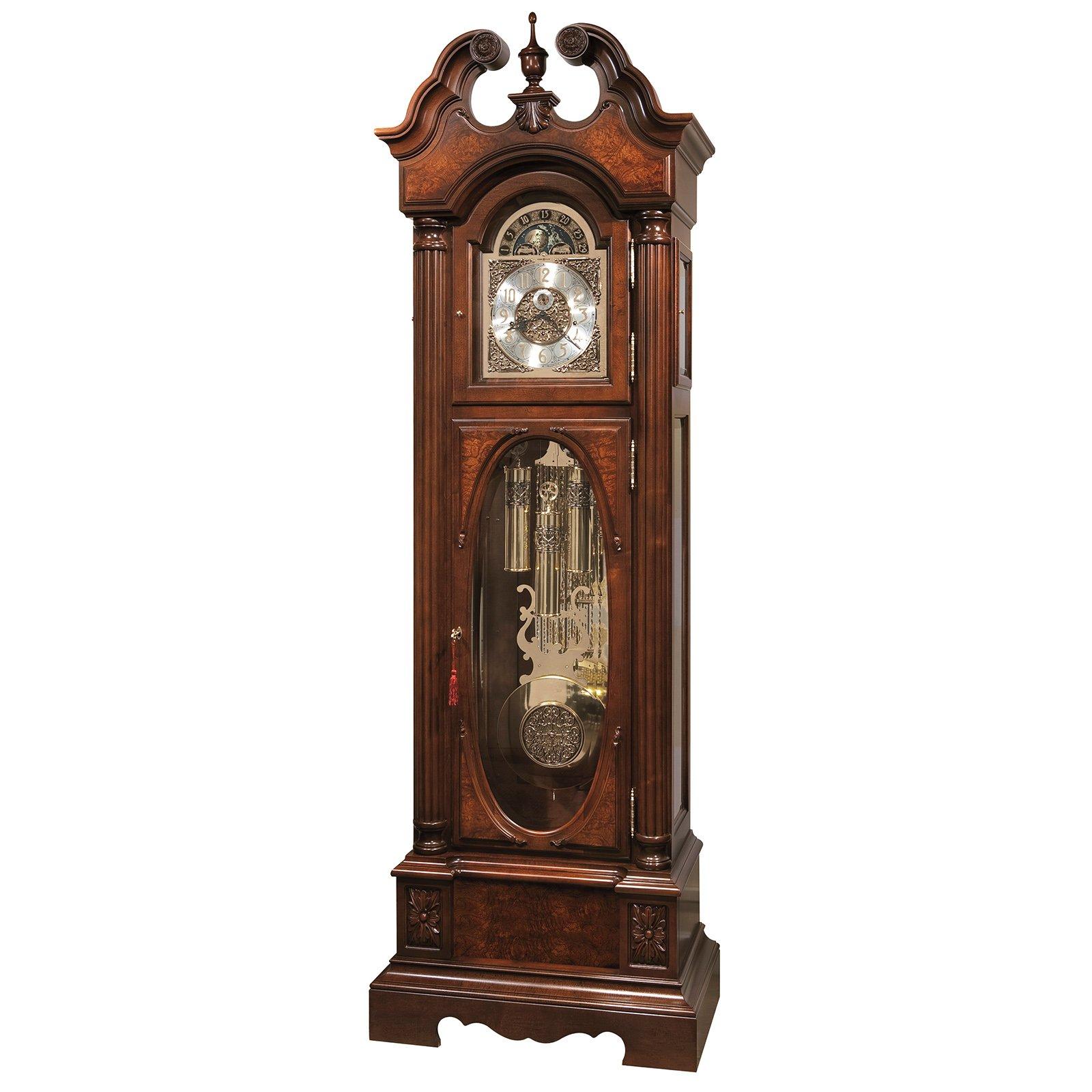 Howard Miller Coolidge Presidential Grandfather Clock by Howard Miller