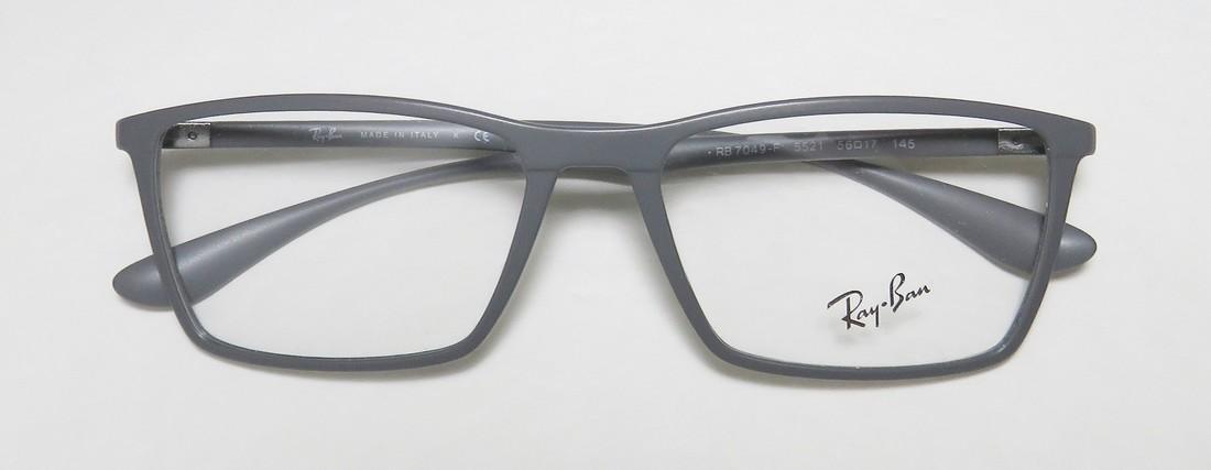 75e11c5b22f Eyeglasses Ray-Ban Optical RX 7049 F 5521 MATTE GREY - Walmart.com