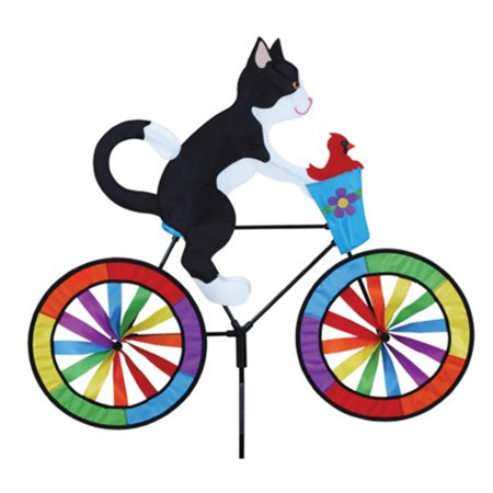 Image of Premier Designs Tuxedo Cat Bicycle Spinner