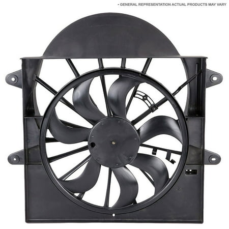 For Chevy Equinox & Pontiac Torrent 2006 2007 New Cooling Fan Assembly (2006 Pontiac Torrent Thermostat)