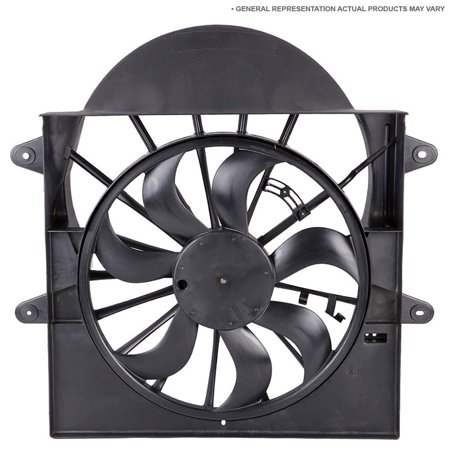 New Left Side Cooling Fan Assembly For Buick Regal Olds Cutlass Ciera