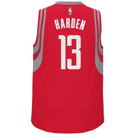 James Harden Houston Rockets Adidas Alternate Swingman Jersey (Gray) by