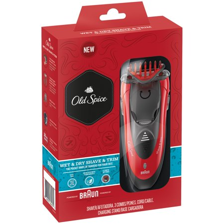 Braun Old Spice® Wet & Dry Shaver & Trimmer 6 pc Box