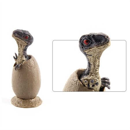 Outtop 3pcs Novelty Magic Crack Easter Dinosaur Hatching Eggs Toy (Dinosaur Egg Hatching)