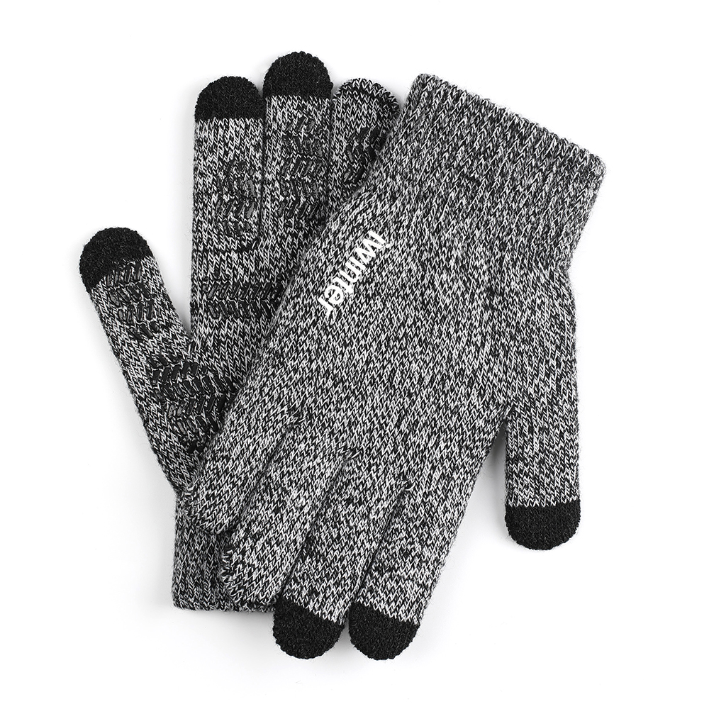 Touch Screen Magic Gloves Winter Knitted Boys Girls Kids for Smart Phone Tablet