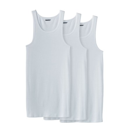 Kingsize Men's Big & Tall Cotton Tank Undershirt
