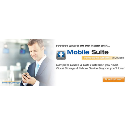 SecurityCoverage Inc. Mobile Suite, Professional (iOS, Android) (Digital Code)