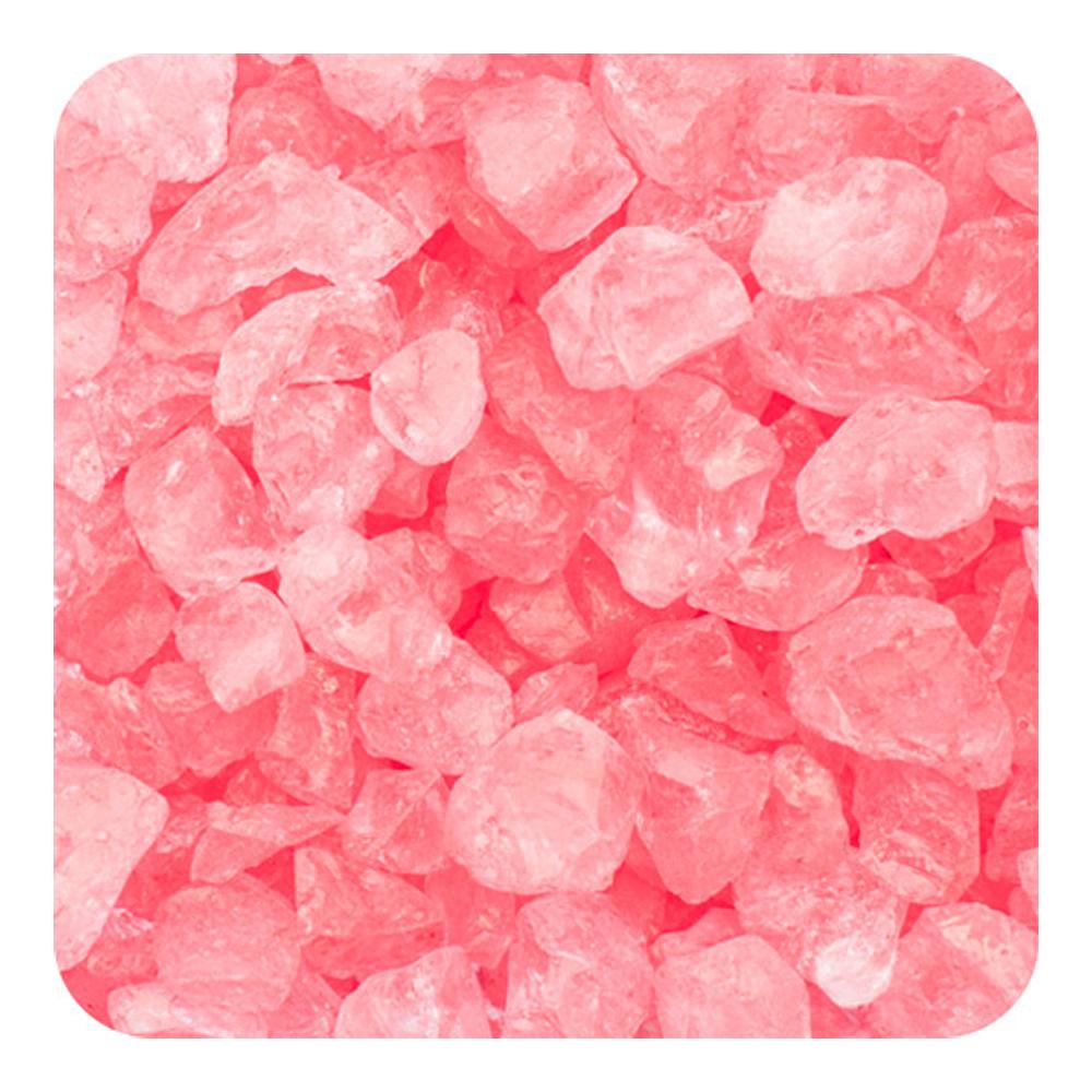 Sandtastik Preschool Kids Children Craft Colored ICE Real Glass Gems, Scatters 10 lb (4.5 kg) Box; 4 - 10 mm - Coral