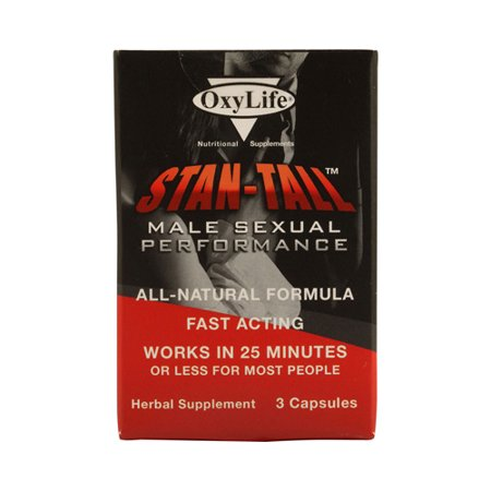 OxyLife Stan-Tall performance sexuelle masculine - 3 capsules