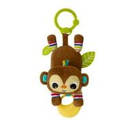 Bright Starts Take-A-Long Banana Tantrum Monkey Plush Toy