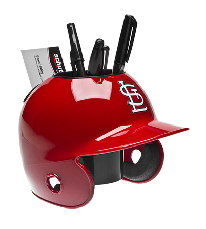 Schutt Sports MLB St Louis Cardinals Desk Caddy