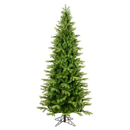 Vickerman K186165 6.5 ft. x 40 in. Balsam Spruce Slim Christmas Tree with 1158 Tip Count - image 1 of 1