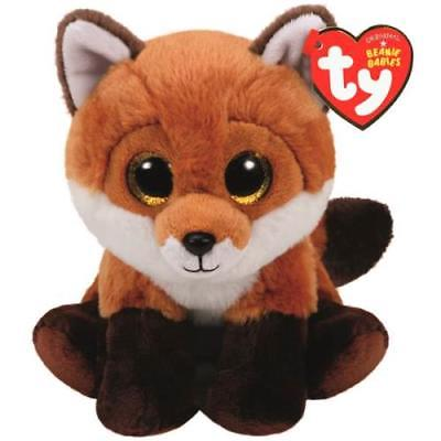 Ty Beanie Babies Small Plush, FAY THE FOX, 2Pack