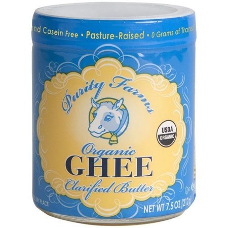 Purity Farms - Purity Farms Organic Ghee Clarified Butter 7.5 Oz  (Pack of 6)