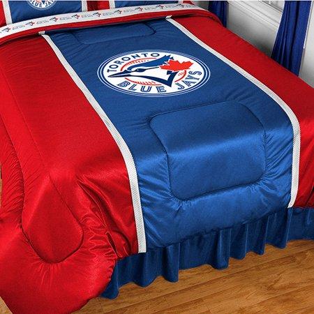 MLB Toronto Blue Jays Bed Comforter Baseball Bedding by