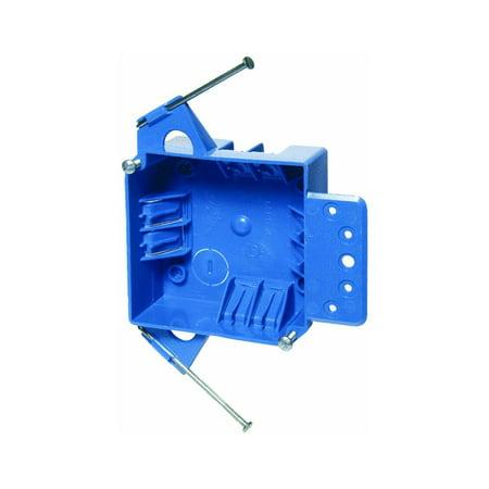 Carlon Junction Box 32 Cu In Pvc 2 Gang Blue Bulk, United States By Thomas Betts - Boxes In Bulk