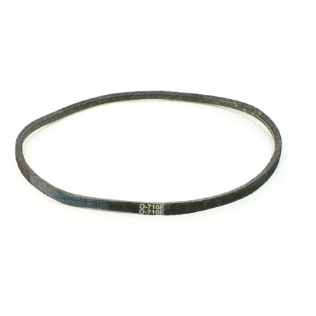 Unique Bargains O-710E Black Washing Machinery Motor O Type Bubber Belt Fit Girth 710mm (Washer Motor Belt)