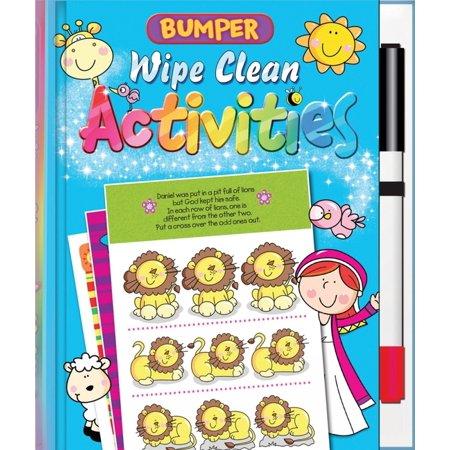 Bumper Wipe Clean Activities Wipe Activity Tote