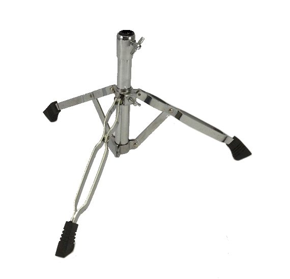 Base for Snare Drum Stand Double Braced Chrome Heavy Duty Tripod by