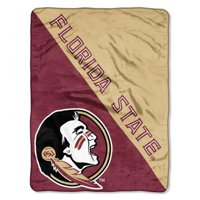 "NCAA Florida State Seminoles ""Halftone"" 46""x 60"" Micro Raschel Throw"