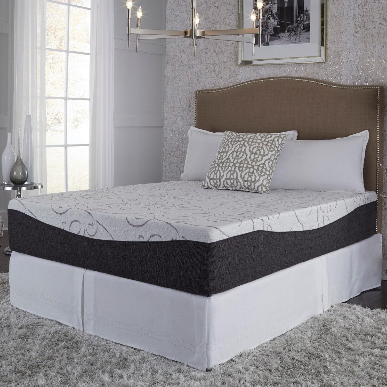 Slumber Solutions Northern Lights Choose Your Comfort 12-inch Gel Memory Foam Mattress