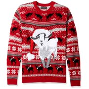 Mens Sweater Medium Crewneck Ugly Christmas M