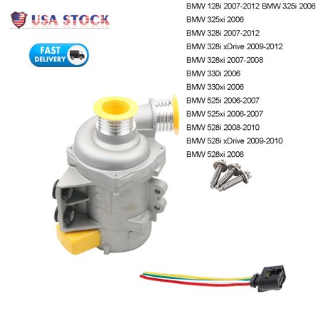 Fit For BMW 328i 528i 530xi 525xi X3 X5 Electric Water Pump New US Stock (Bmw E36 Water Pump)