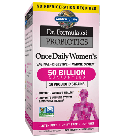 Garden of Life Dr. Formulated Probiotics Once Daily Women's Shelf Stable 30