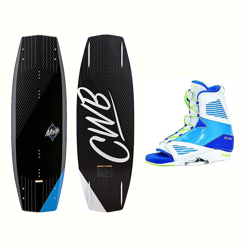 Click here to buy CWB Mode Wakeboard With Draft Bindings 2017 by CWB.