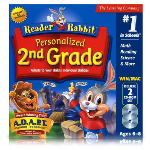 Reader Rabbit Personalized 2nd Grade Deluxe