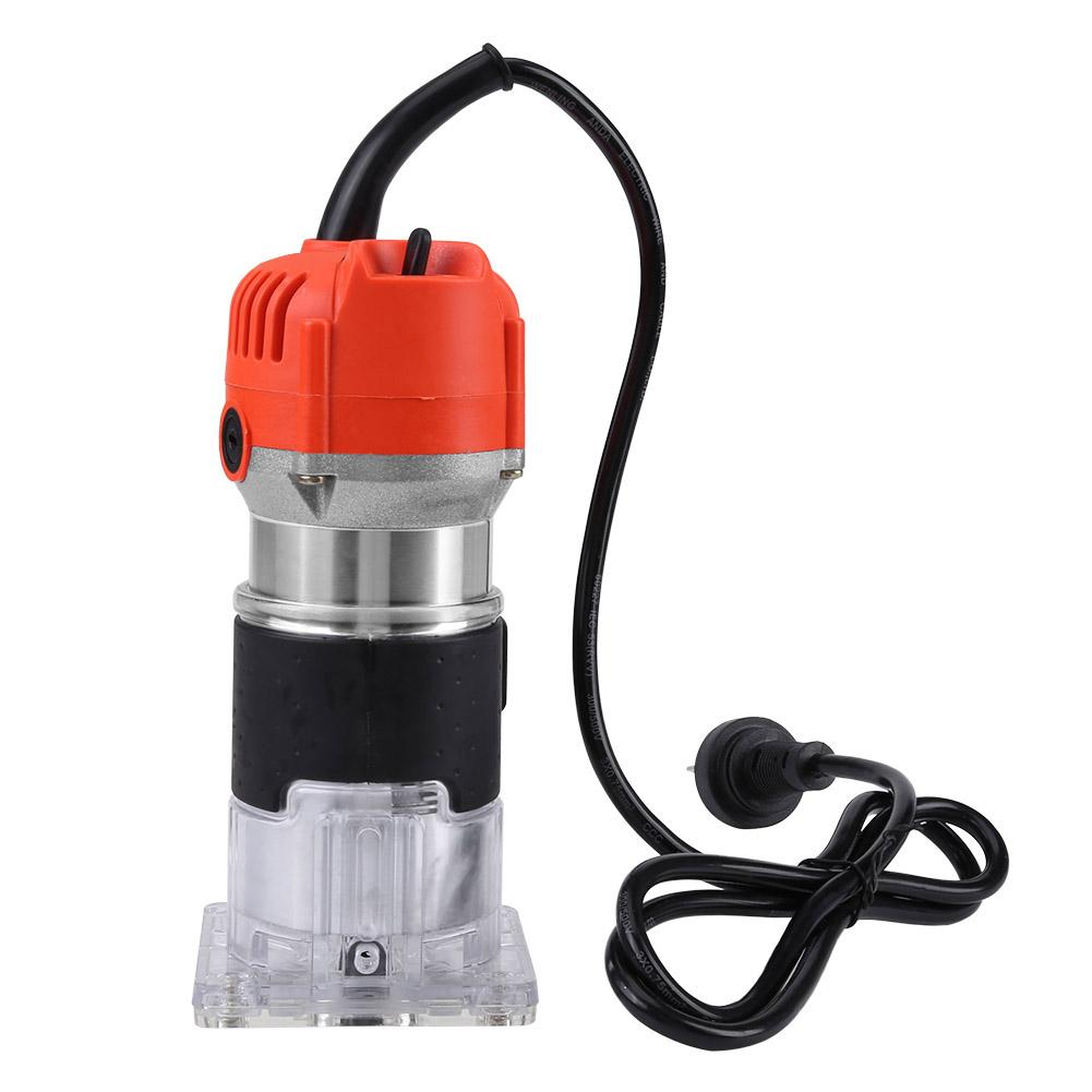 US Plug Variable Speed 2200W 33000RPM Electric Woodworking Hand Joiners   ↬ Q