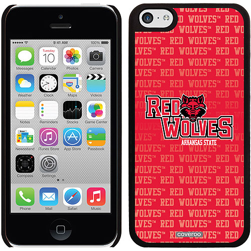 Arkansas State Repeating Design on iPhone 5c Thinshield Snap-On Case by Coveroo