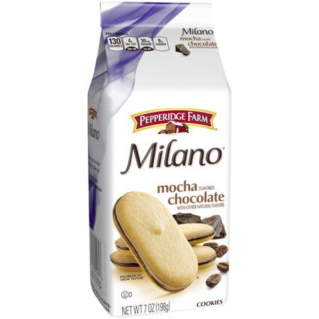 Pepperidge Farm Milano Mocha Chocolate Cookies 7Oz