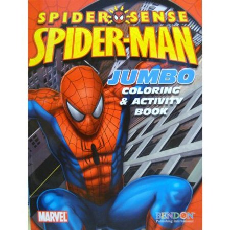 Spider-Man Coloring & Activity Book (Cover Art May Vary)](Spiderman Coloring Book)
