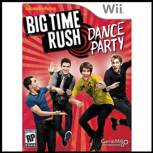 Big Time Rush Dance Party (Wii) - Pre-Owned