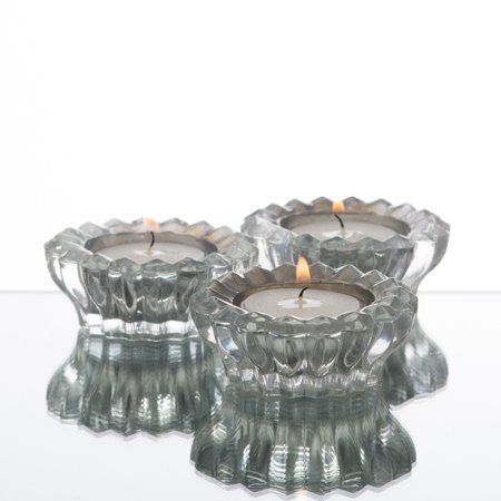Richland Tealight Candle Holder Dainty Mirrored Set of 72