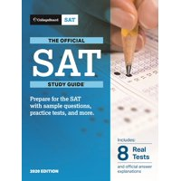 The Official SAT Study Guide, College Board 2020 Edition (Paperback)