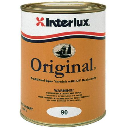 Original 90 Traditional Spar Varnish Qt Original Varnish (Superspar), new By Interlux Ship from