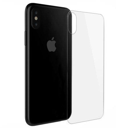 iPhone X Back Screen Protector Glass, Premium iPhone X Back Anti-Fingerprint Screen Protector for Apple iPhone X / 10