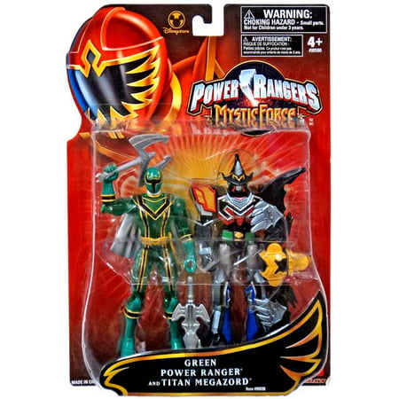 Green Power Ranger and Titan Megazord Action Figure 2-Pack](Powerranger Megazord)